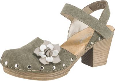 rieker stiefel grün, Rieker Sandaletten beige Damen Schuhe