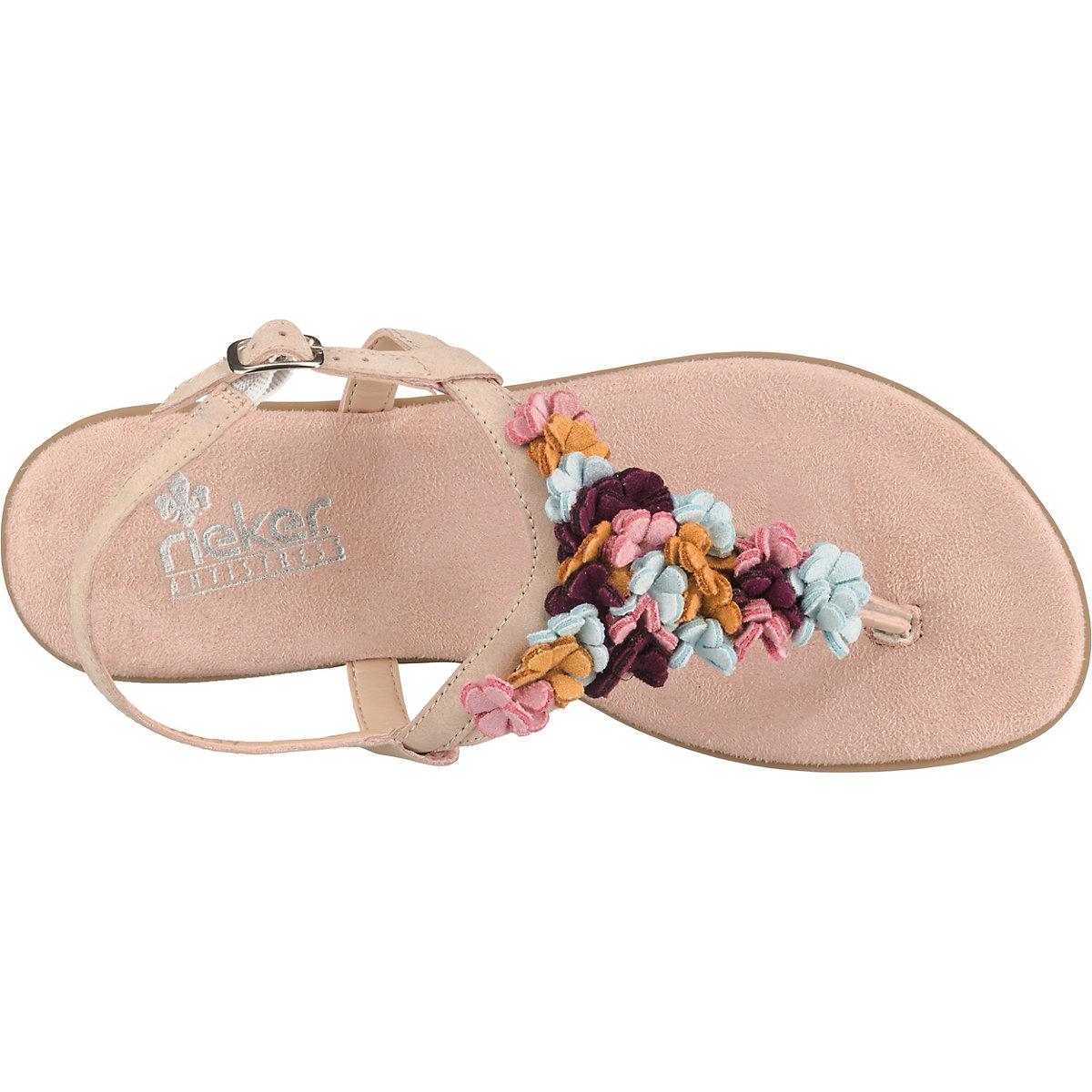 Rieker, Klassische Sandalen, Rosa