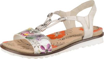 rieker, Klassische Sandalen, mehrfarbig