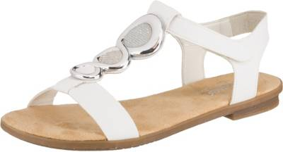 rieker, 10626468 Klassische Sandalen, weiß