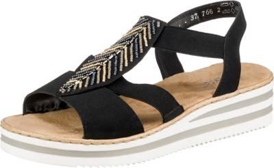 rieker, 10626499 Klassische Sandalen, schwarz   mirapodo
