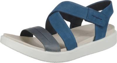 ecco, Ecco Flowt W Klassische Sandalen, blau