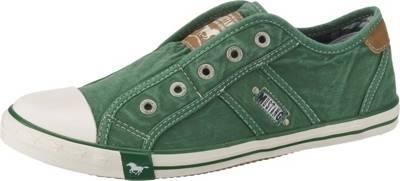 MUSTANG, Sneakers Low, grün kombi
