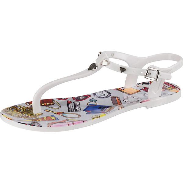T Love steg sandalen Moschino Weiß CtshrQdxB