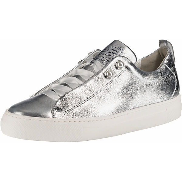 fashion styles wholesale sales elegant shoes Paul Green, Sneakers Low, silber