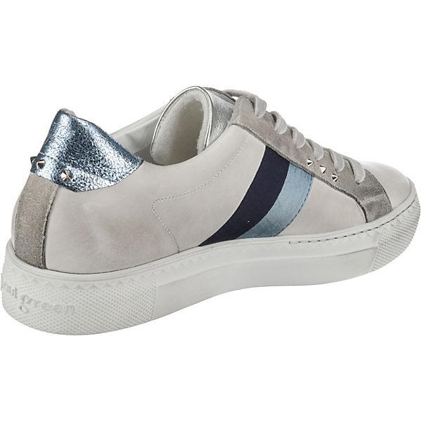 Low Green Weiß Sneakers kombi Paul XaYqY