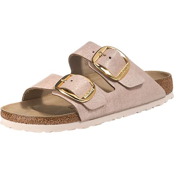 buy online 1319f 00604 BIRKENSTOCK, Arizona Big Buckle Pantoletten, rosa