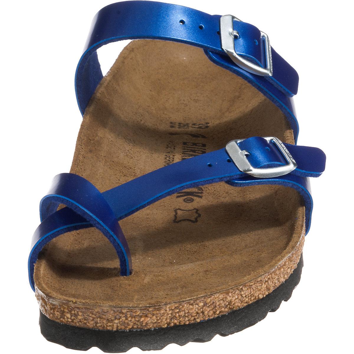 Birkenstock, Mayari Pantoletten, Blau Artikelnummer:10635471