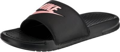 Nike Sportswear, Benassi JDI Badelatschen, schwarz Modell 1