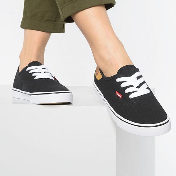 Levi's® Sneakers Low Schwarz Low Levi's® Levi's® Schwarz Low Sneakers Sneakers qqxpfwC