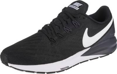 Nike Laufschuh Air Zoom Structure 22 schwarzweiß