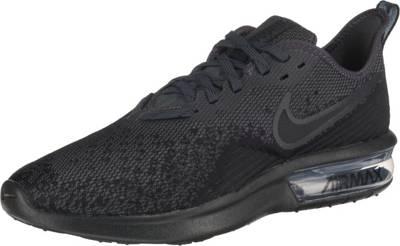 Nike Herren Air Max Sequent Laufschuhe, schwarz