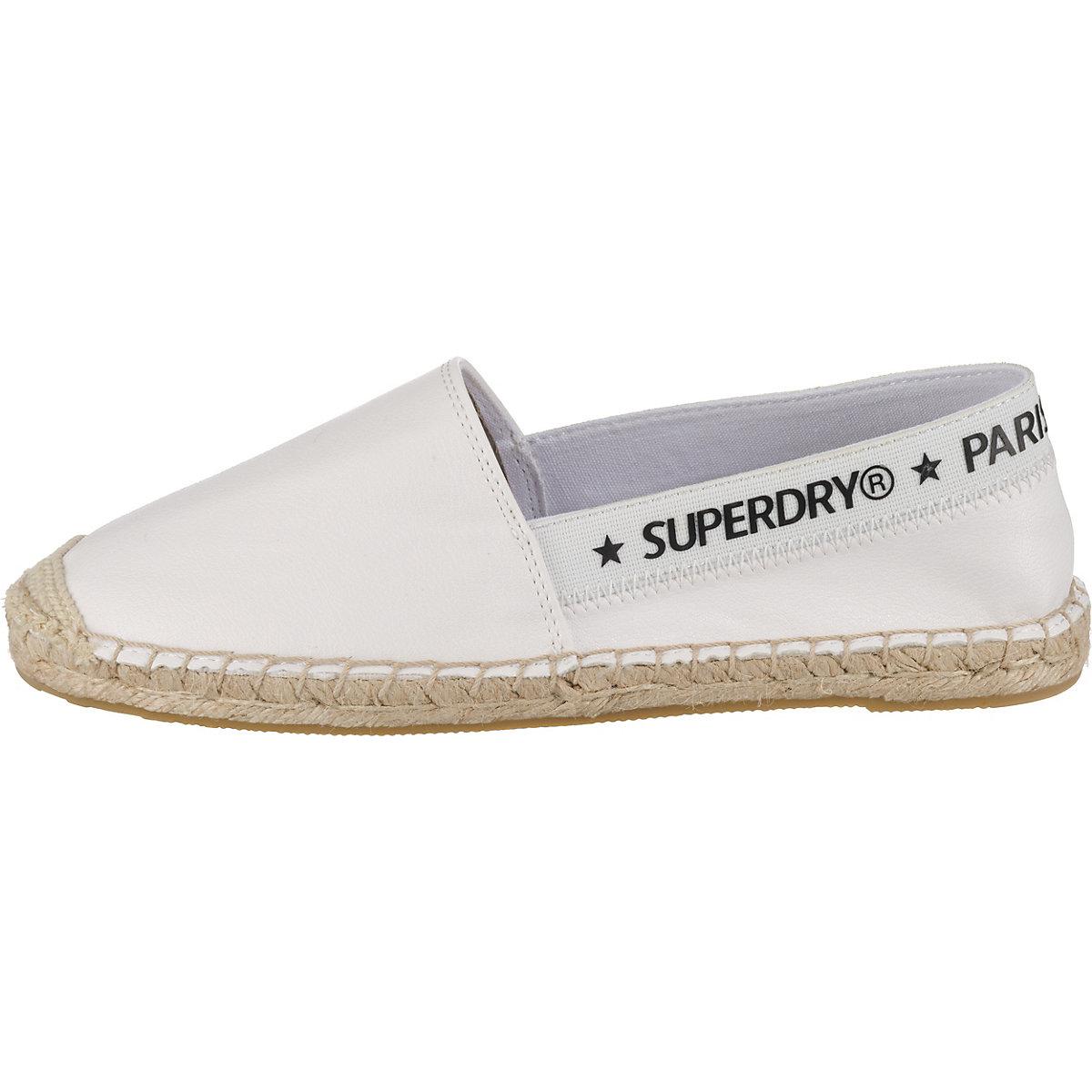 Superdry, Espadrilles, Weiß