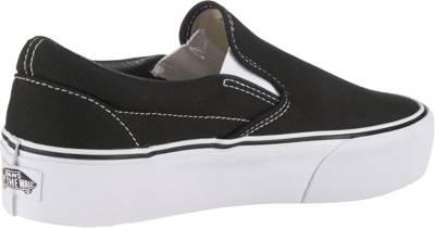 VANS, UA Classic Slip On Platform Sneakers Low, schwarz