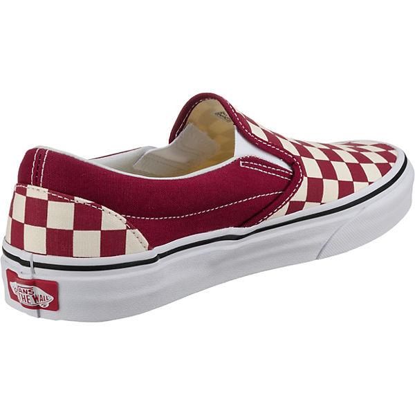 Rot Vans Slip Classic Sneakers on Low Ua qvzBw7vP