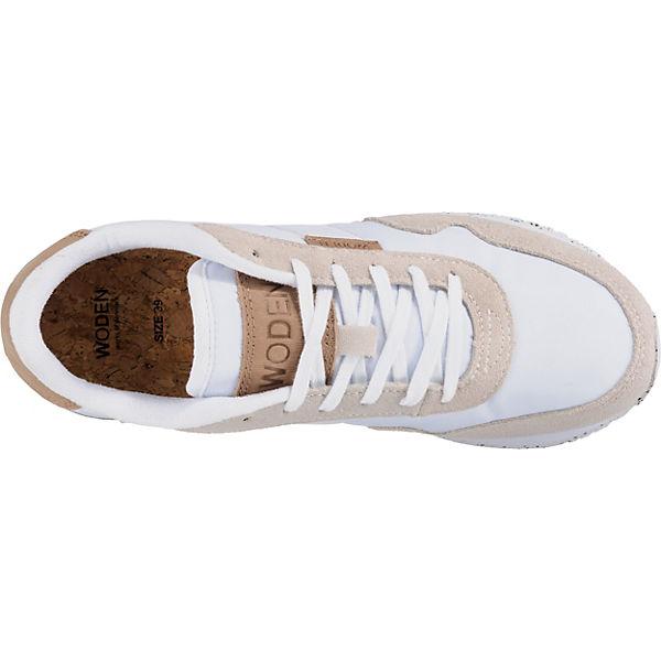 Ll Low Woden Nora Sneakers Weiß ZuOiTPwklX