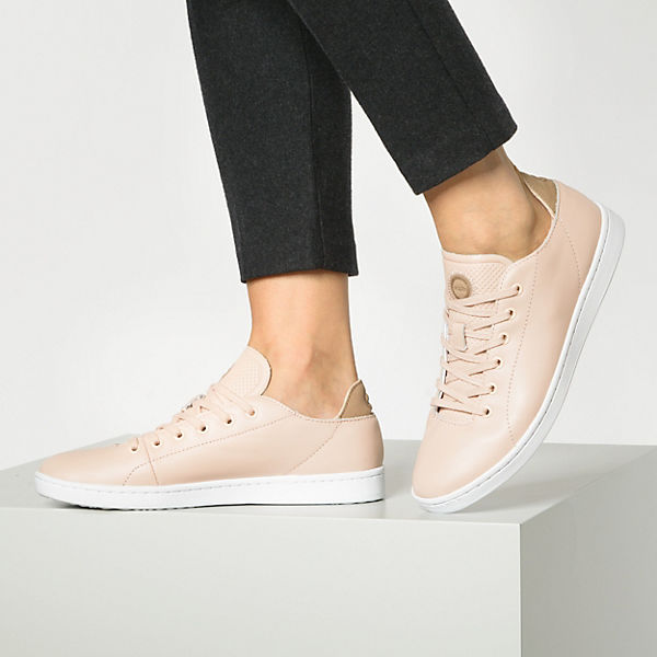 Woden Jane Leather Sneakers Low Rosa gn5rYl1e