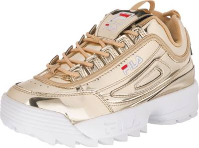 FILA, Disruptor M Sneakers Low, gold