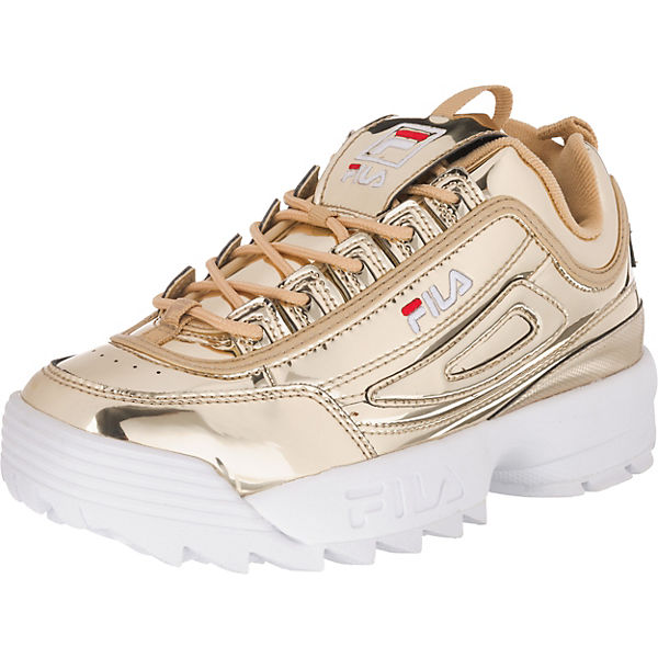 premium selection a2186 d1804 FILA, Disruptor M Sneakers Low, gold