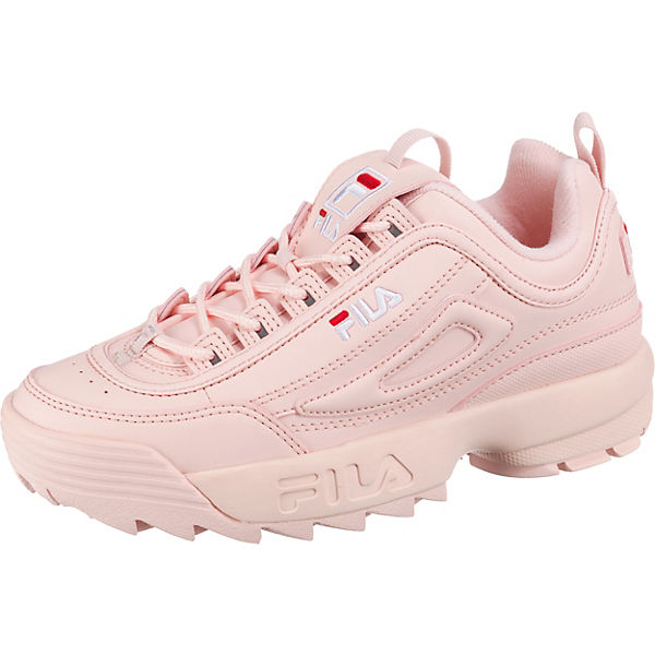 hot sale online 10d74 f544c FILA, Disruptor Sneakers Low, rosa