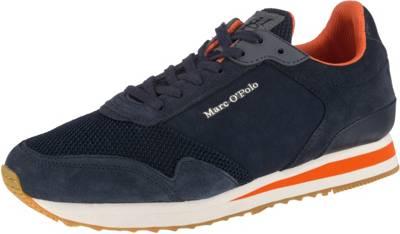 Marc O'Polo, Sneakers Low, dunkelblau