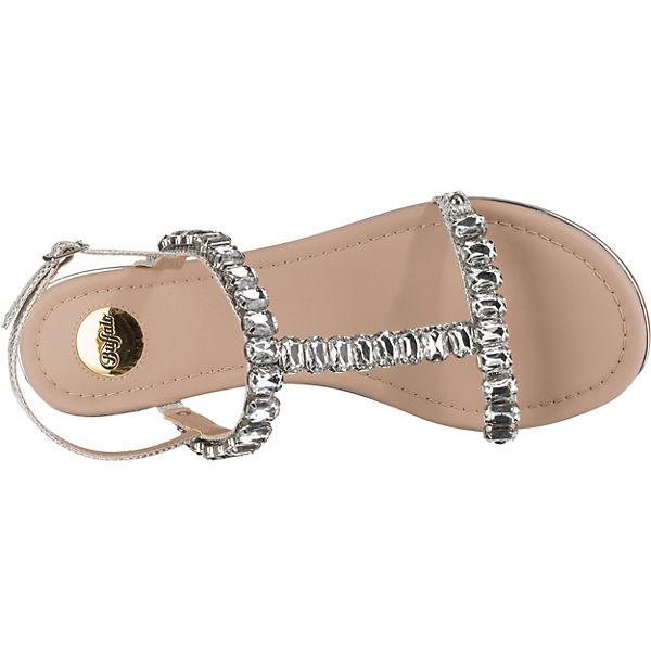 steg Estelle Buffalo Silber sandalen T g1PAAwcqE