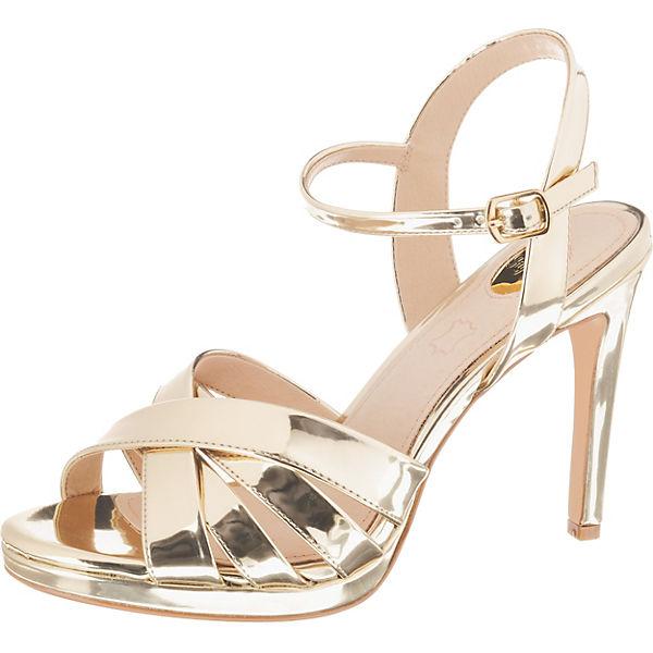 online store e5c8f a1400 BUFFALO, Evangelina Klassische Sandaletten, gold