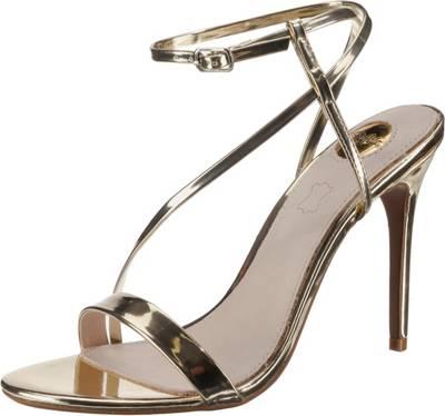 Damen KaufenMirapodo Goldene Goldene Sandaletten Für 9eYEDIWH2