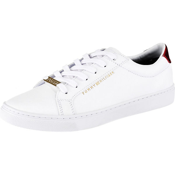1f1c5afc09 TOMMY HILFIGER, Sneakers Low, weiß-kombi | mirapodo