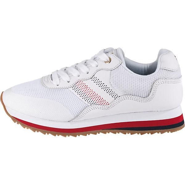 Sneakers Sneakers Hilfiger Weiß Low Tommy Tommy Weiß Low Hilfiger Tommy b76gyYfv