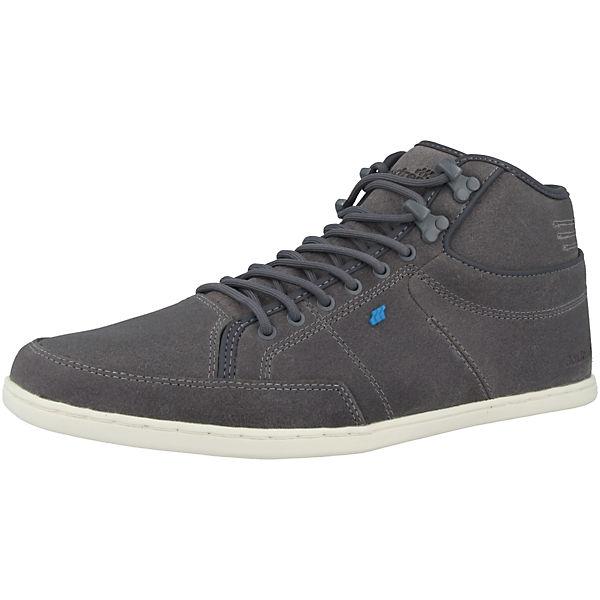Boxfresh®, Schuhe Swapp 3 Leather Sneakers High, grau   mirapodo 4ad899b761