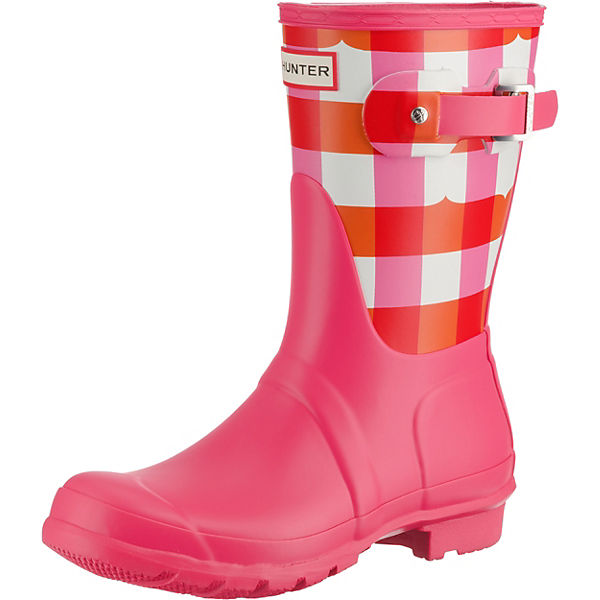 new product 5e608 d781b HUNTER, Gummistiefel, pink