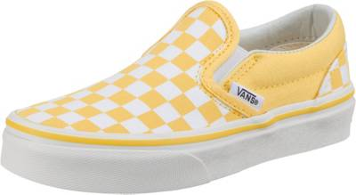 VANS, Kinder Slipper UY Classic Slip-On, gelb