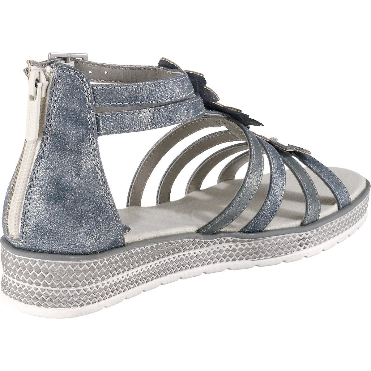 Mustang, Sandalen Für Mädchen, Hellblau