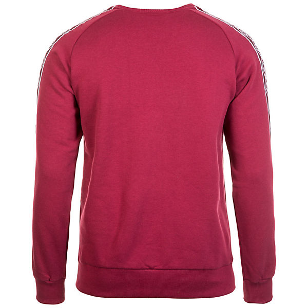 Herren Crew Retro Rot weiß Taped Umbro Sweatshirt LSVqzGjUMp