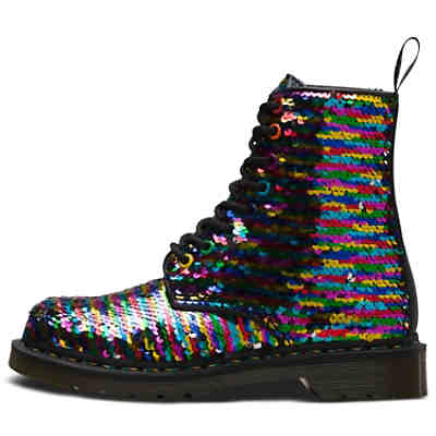 43179c158d6185 ... 8 Eye Shoe 1460 Sequin Rainbow 2. Dr. Martens ...