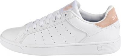 K SWISS, Clean Court CMF Sneakers Low, weiß | mirapodo