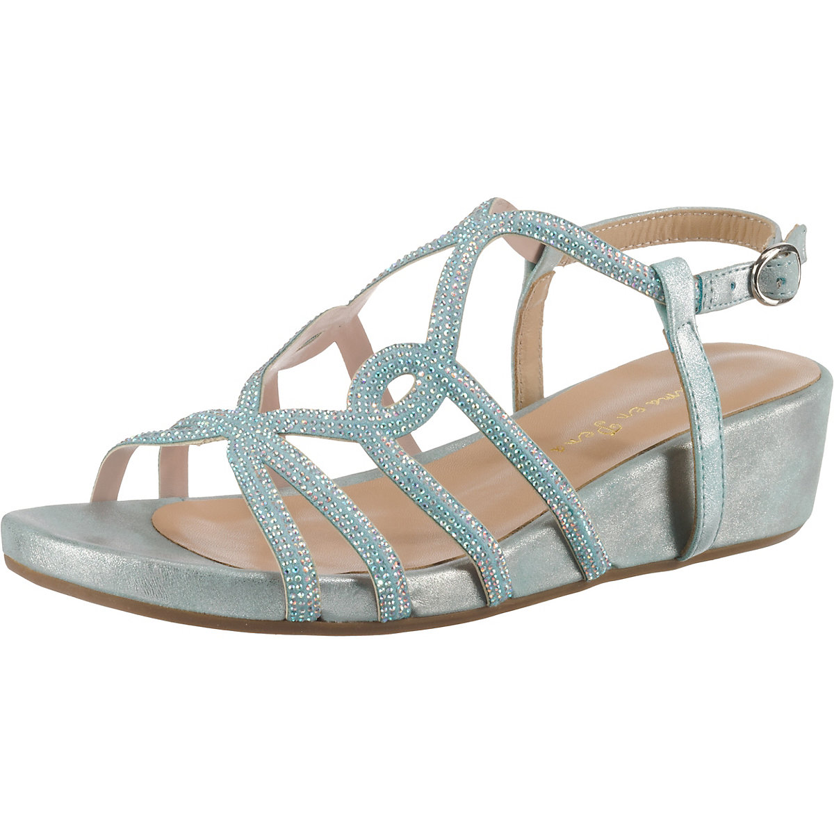 Alma en Pena, Klassische Sandaletten, hellblau  Gute Qualität beliebte Schuhe