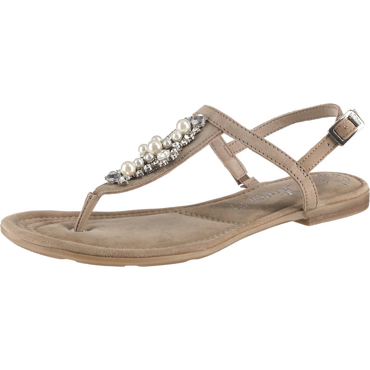 S.Oliver, T-Steg-Sandalen, taupe  Gute Qualität beliebte Schuhe