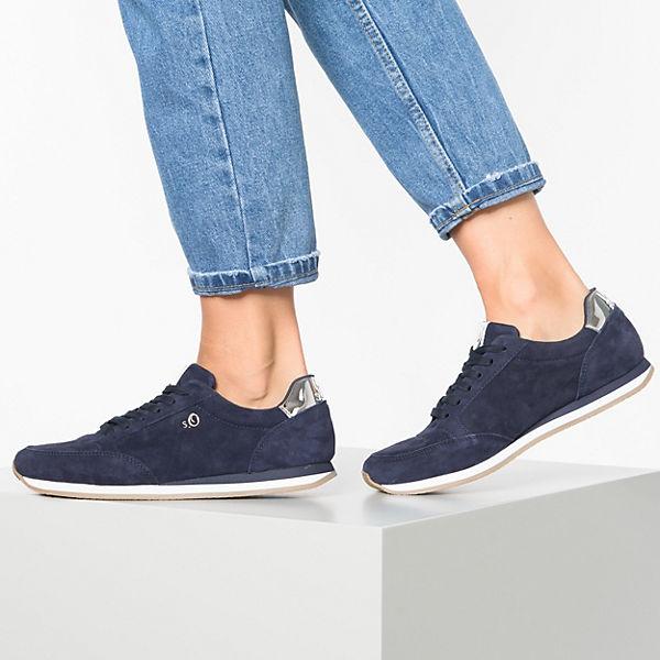 S oliver Sneakers Dunkelblau Low oliver Dunkelblau Sneakers oliver S Low S Sneakers IH9E2D