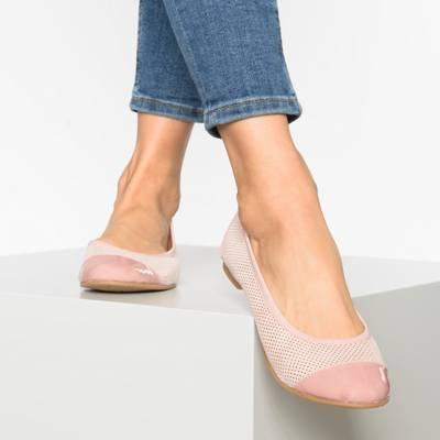 Anna Field, Klassische Ballerinas, rosa