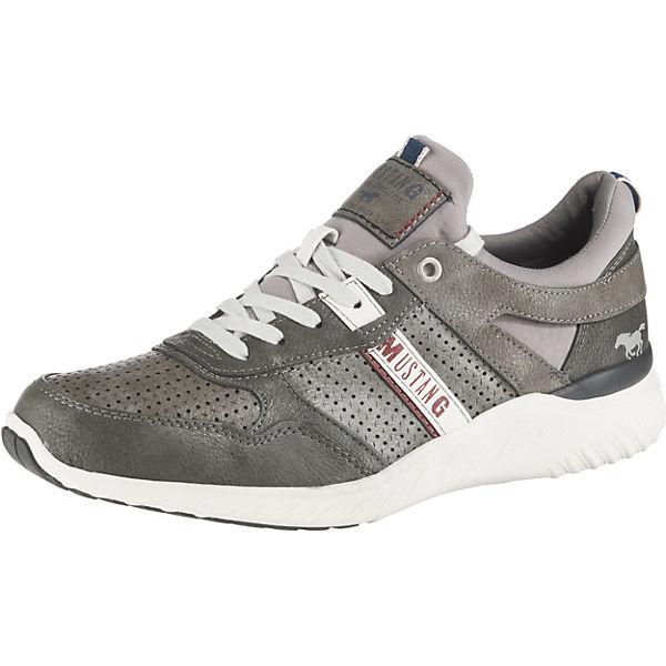 Beste Wahl MUSTANG Sneakers Low dunkelgrau