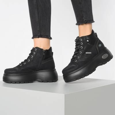 Dockers® by Gerli Sportiver SchnürschuhSneaker braun Schuhe
