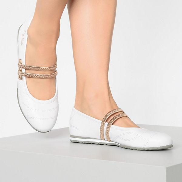 Gerli By Weiß Riemchenballerinas 1 Dockers Modell wUqawd