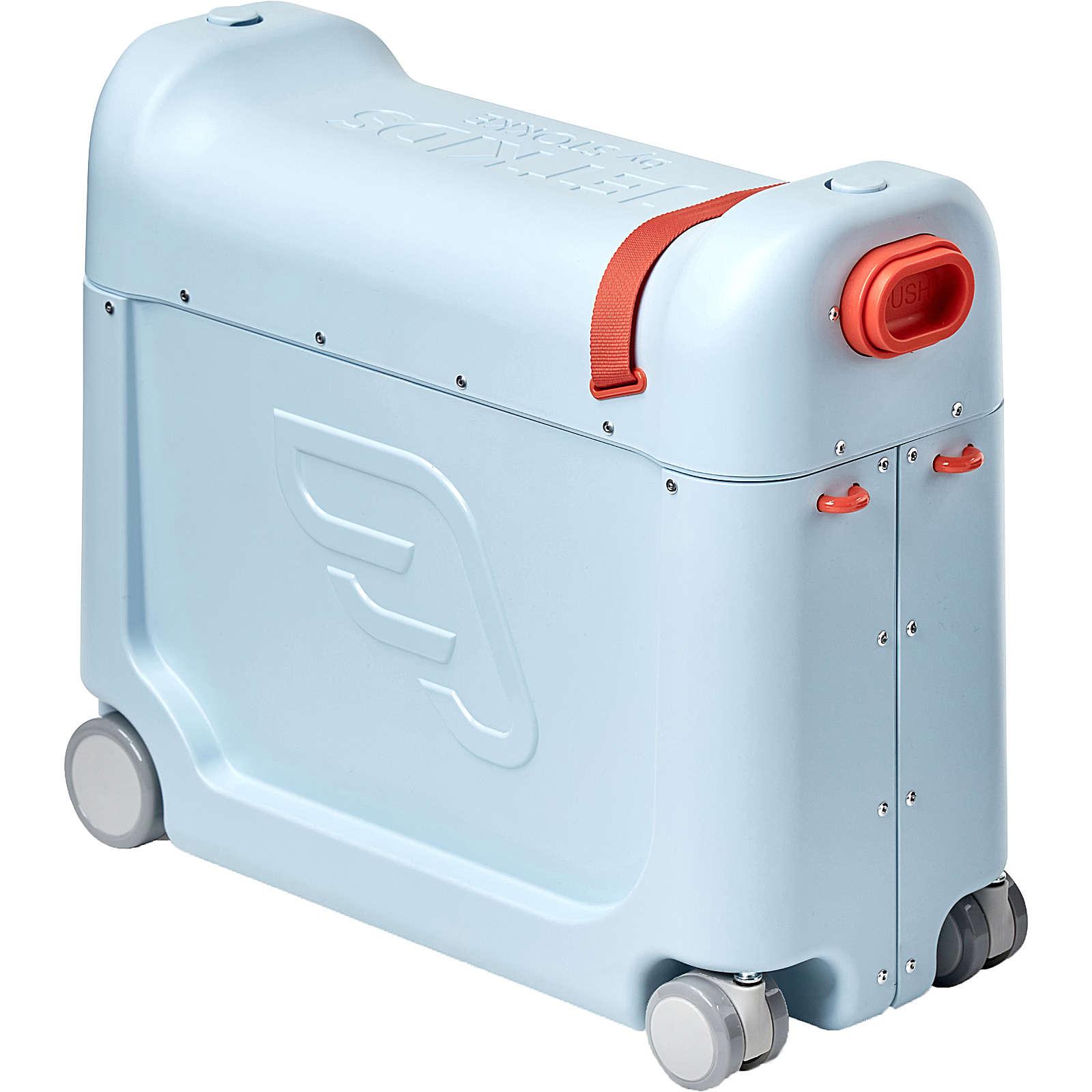 Reisekoffer BedBox, JetKids by Stokke, blue blau Junge