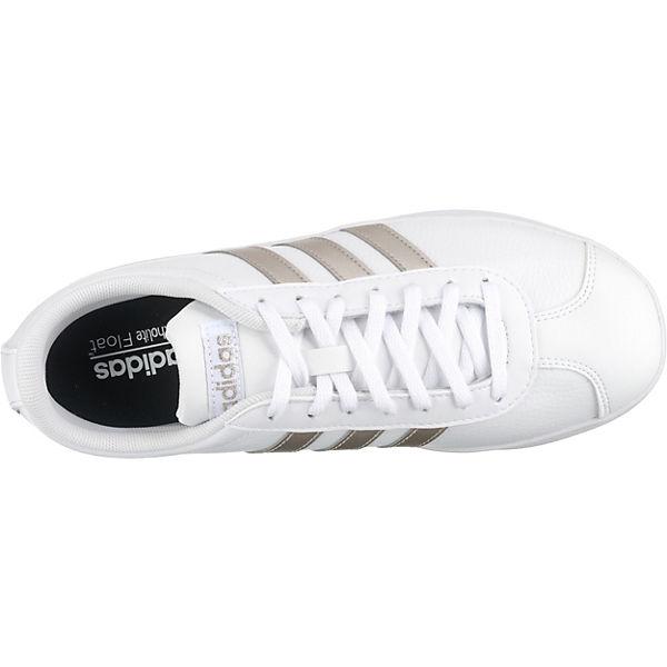 Adidas Sneakers Low kombi Vl Court 0 Inspired Weiß Sport 2 ywvmNnO80