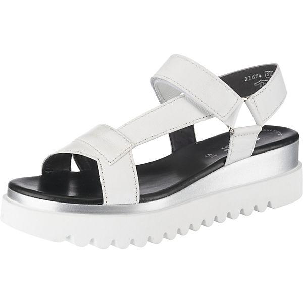 Klassische Klassische Weiß Sandalen Gabor Klassische Sandalen Sandalen Weiß Gabor Gabor Weiß gf7vYb6yI