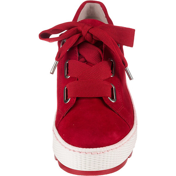 Gabor Gabor Rot Sneakers Sneakers Low Zxzw7Cq