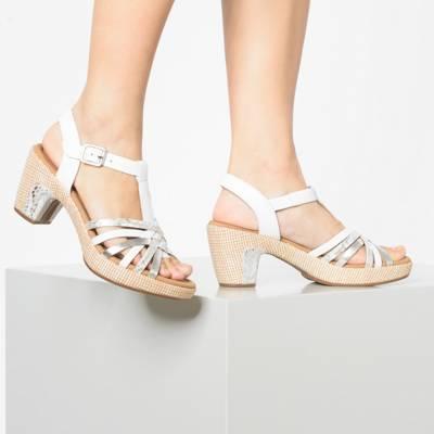 Gabor Damen Klassische Sandalen Druckverschluss Blockabsatz