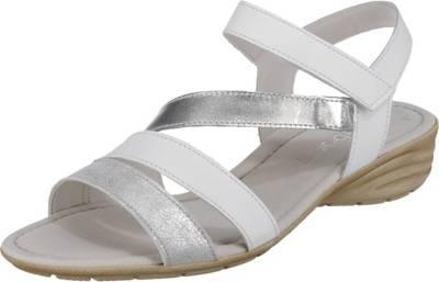 Gabor, Klassische Sandaletten, weiß